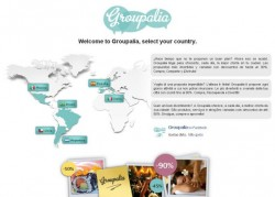 Groupalia - homepage