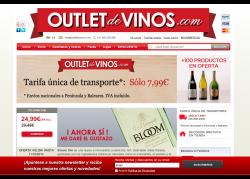 Outlet de Vinos - homepage