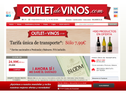 Outlet de Vinos - homepage